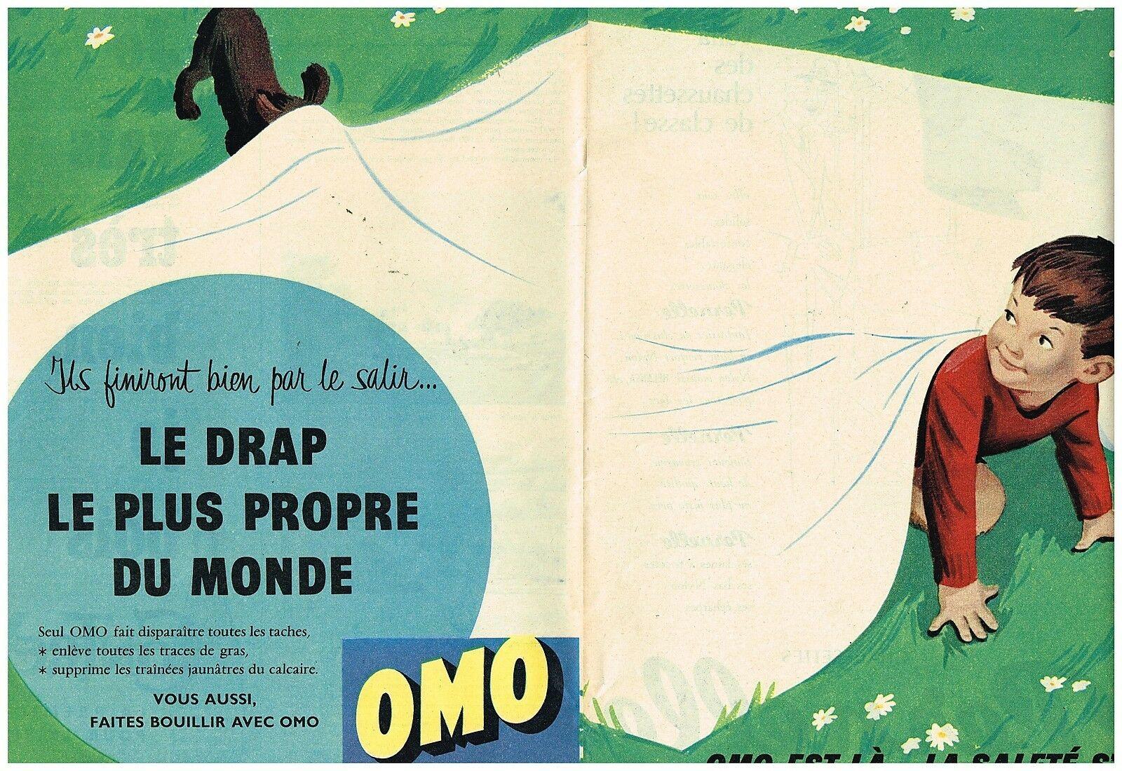 Lessive OMO 1957
