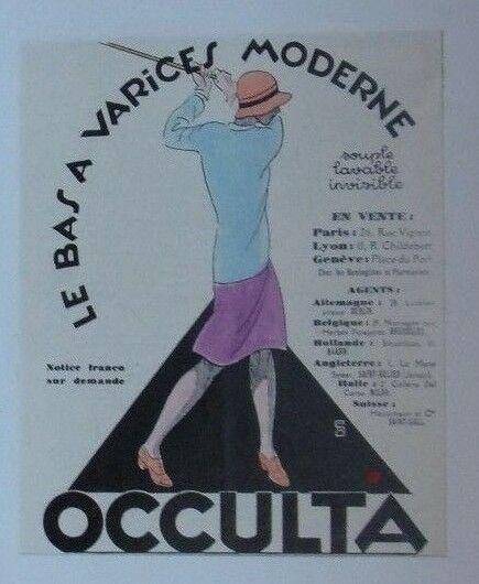 OCCULTA 1929 Bas moderne