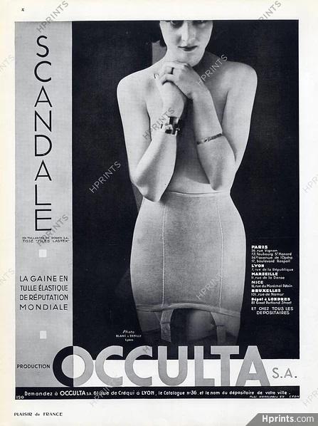 Occulta 1934 scandale