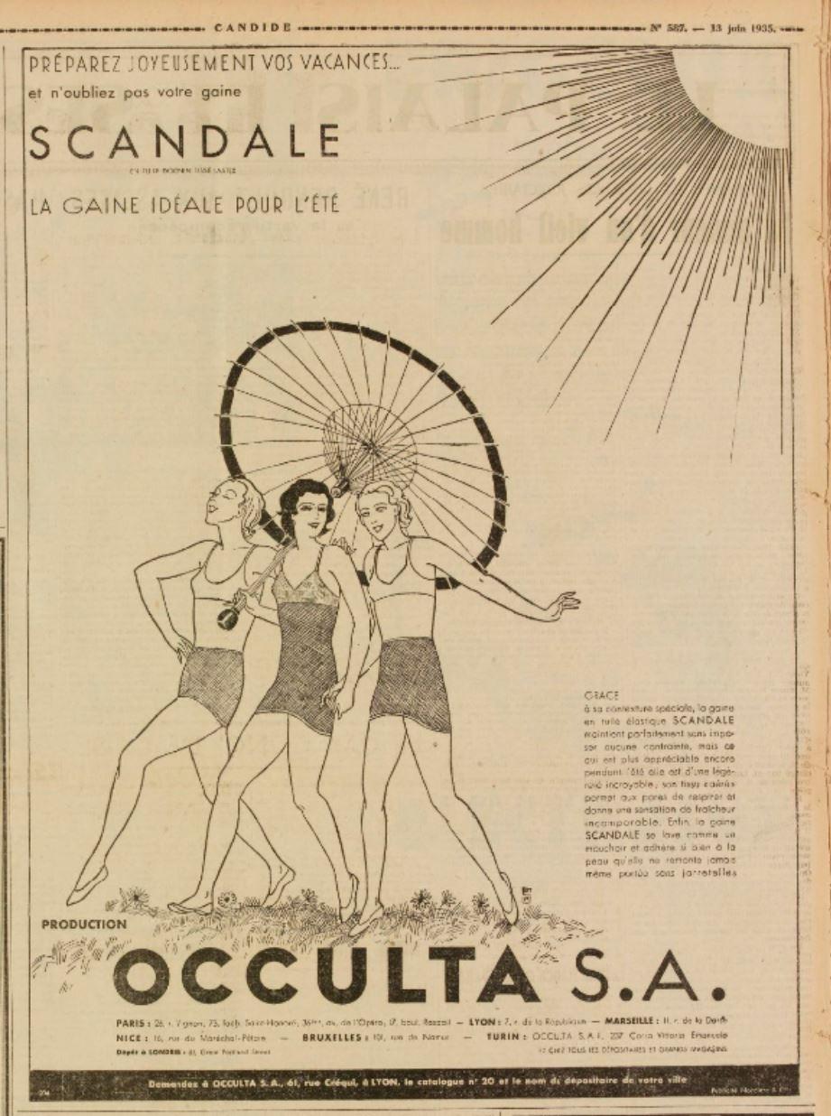 Scandale 1935 Candide 13 juin