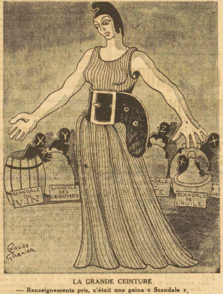 Scandale 1946 Aurore 12 Octobre