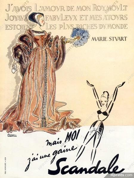 Scandale 1948 Facon Marec Marie Stuart