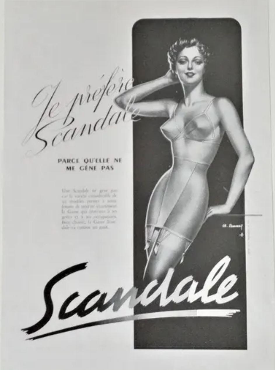 Scandale 1950 Lemmel A2