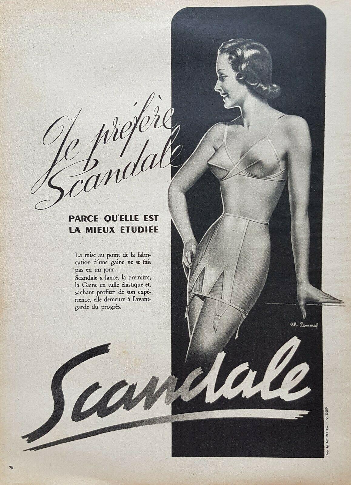 Scandale 1950 Lemmel