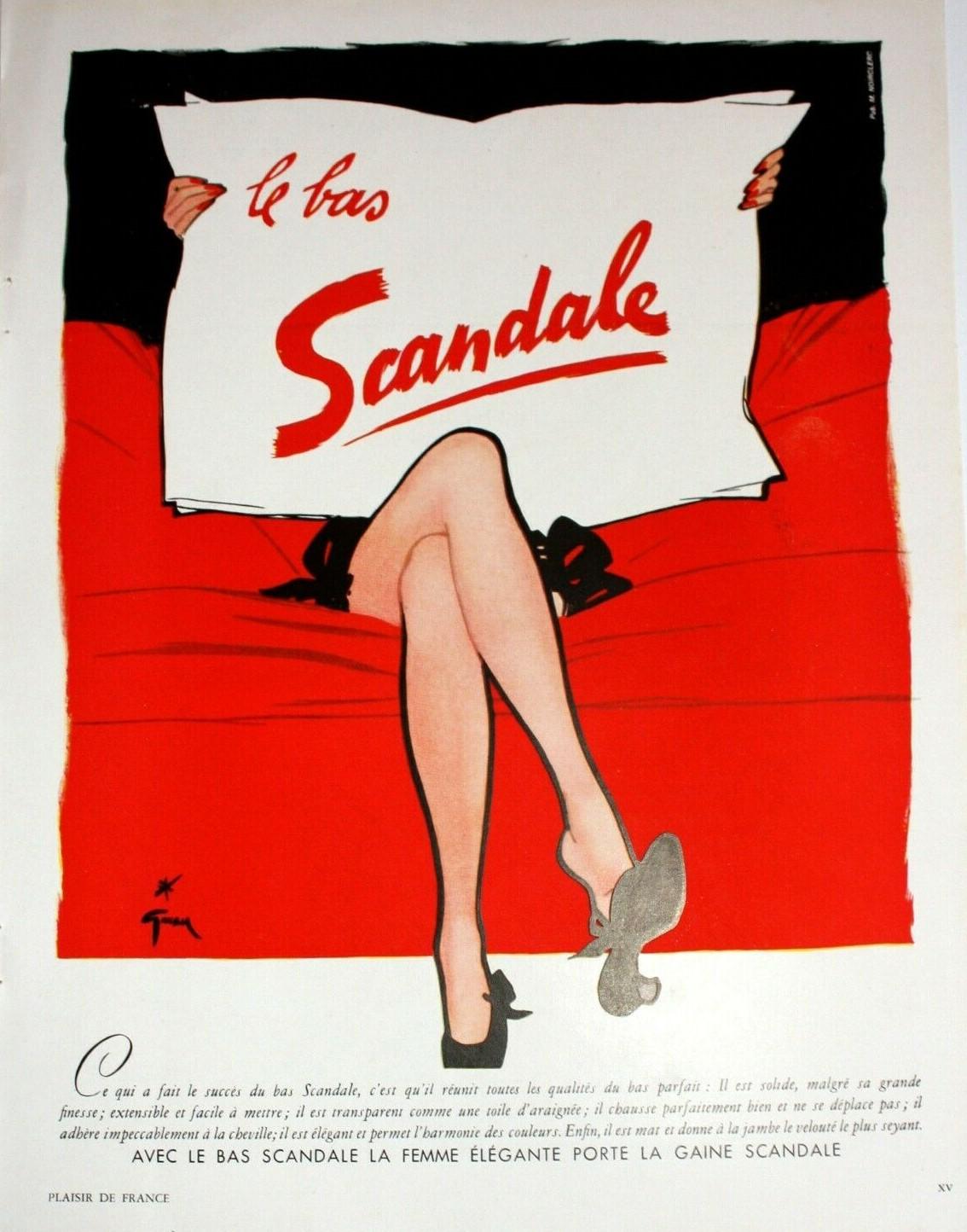 Scandale 1952 Gruau E0