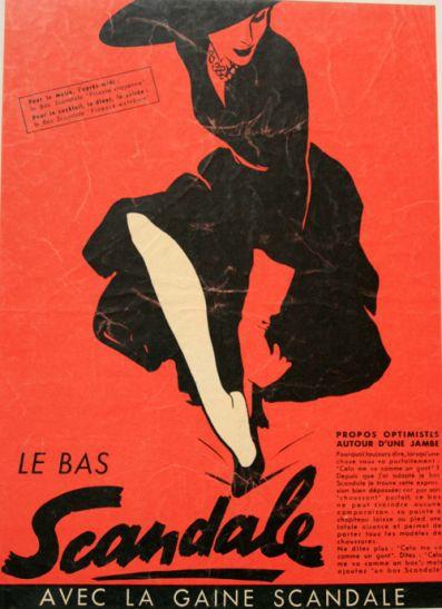 Scandale 1952 Gruau Q3 chaussant