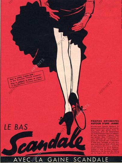 Scandale 1952 Gruau Q4 Adherent