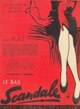 Scandale 1952 Gruau Q6 Mat