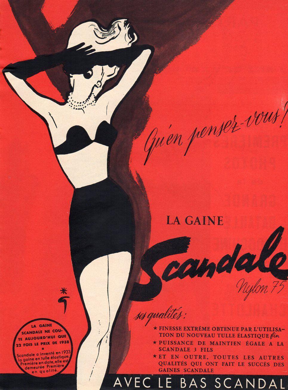 Scandale 1952 Gruau Z1