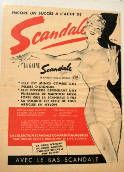 Scandale 1952 Maurice Paulin A2