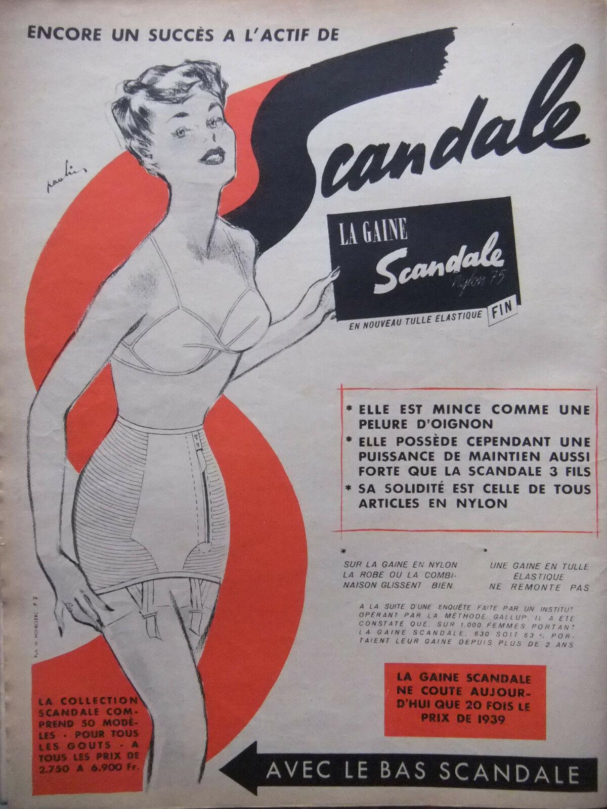 Scandale 1952 Maurice Paulin B1