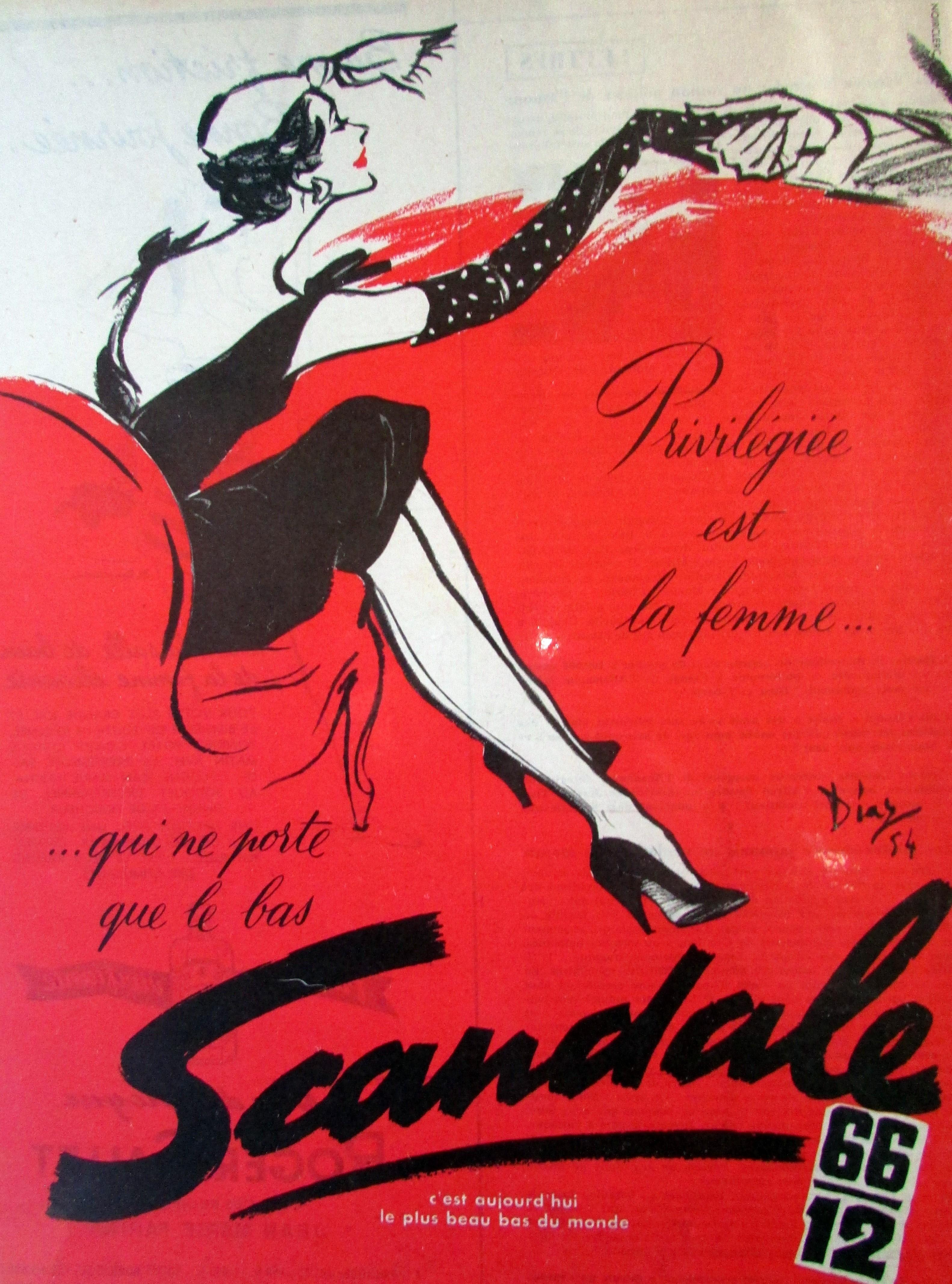 Scandale 1954 Diaz Bas 66-12 A1