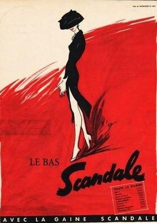 Scandale 1956 Diaz Le bas scandale A2