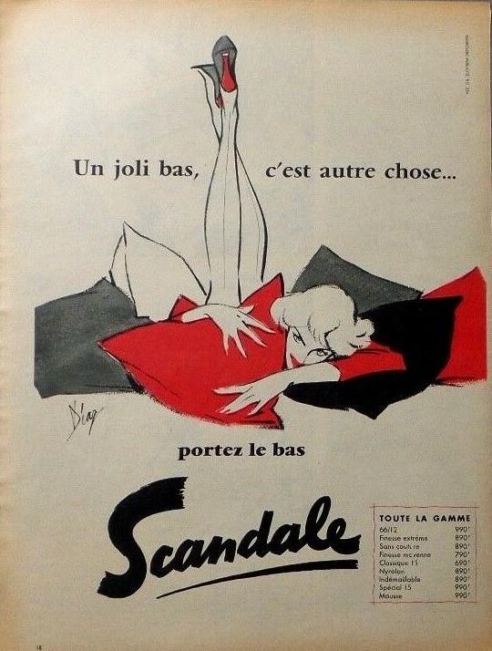 Scandale 1956 Diaz Le bas scandale A3
