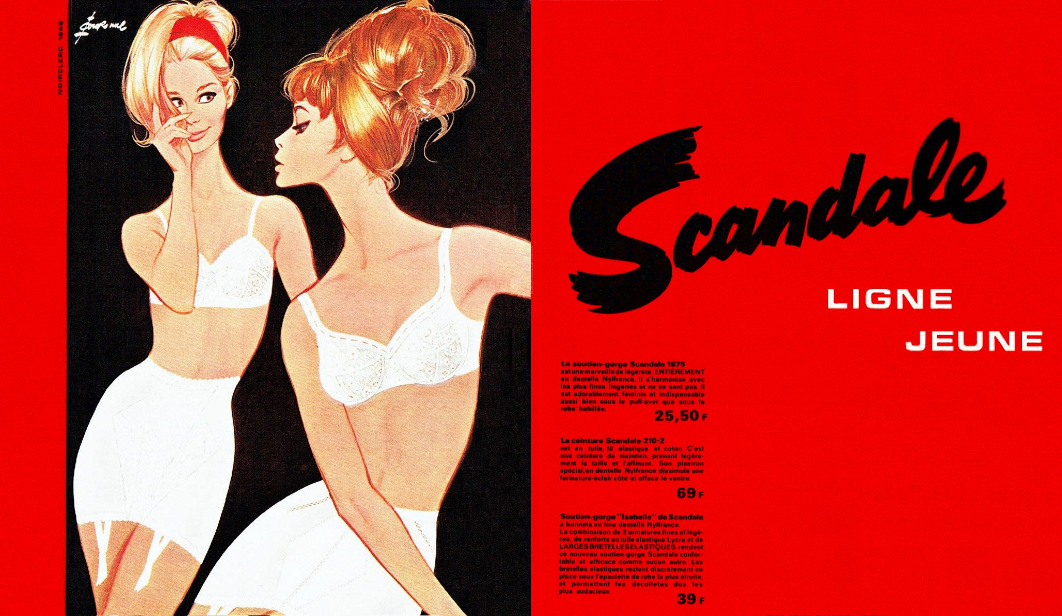 Scandale 1964 Pierre Couronne A1