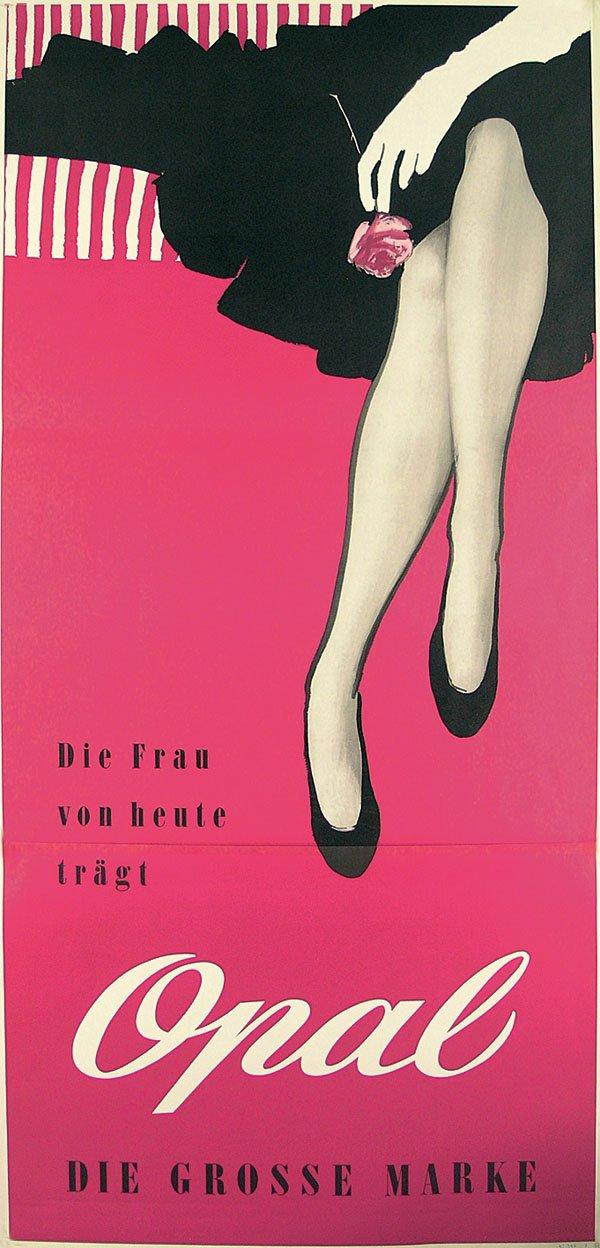 die frau heute tragt Opal 1957
