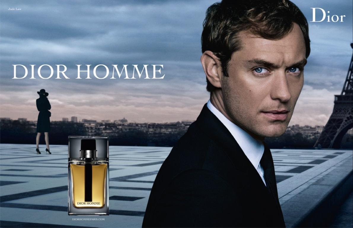 parfum dior 2010 model Jude Law