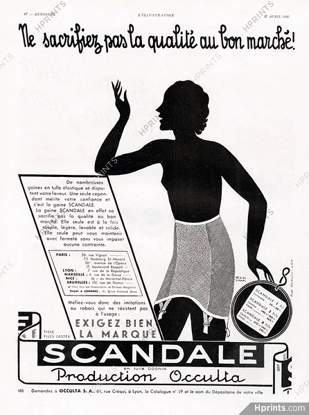 scandale 1935 st-marc hprints.com