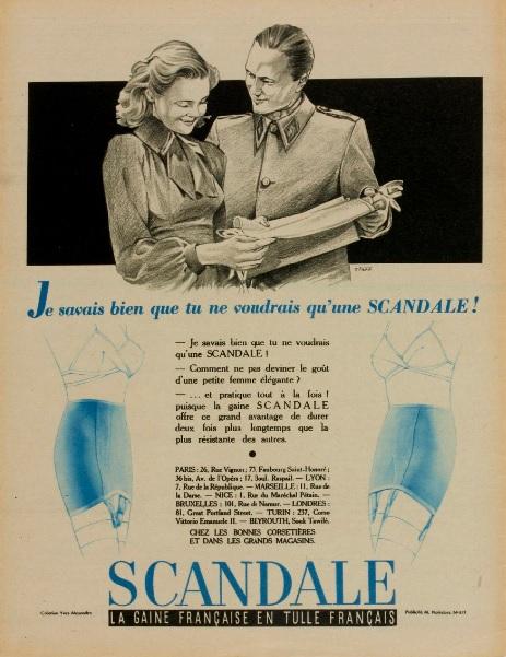 scandale 1940 starr Marie-Claire 4 decembre Gallica