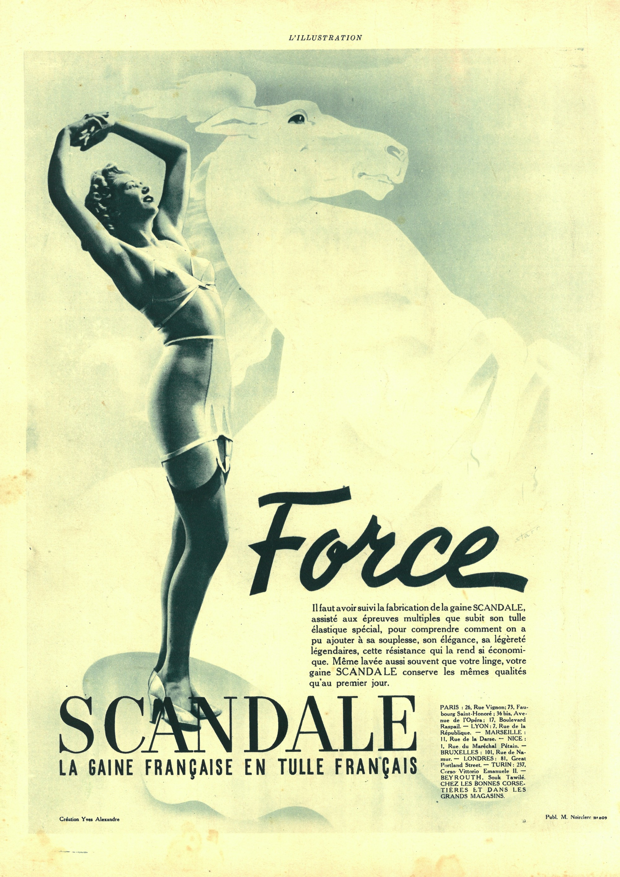 scandale 1940-starr force Vogue avril-mai
