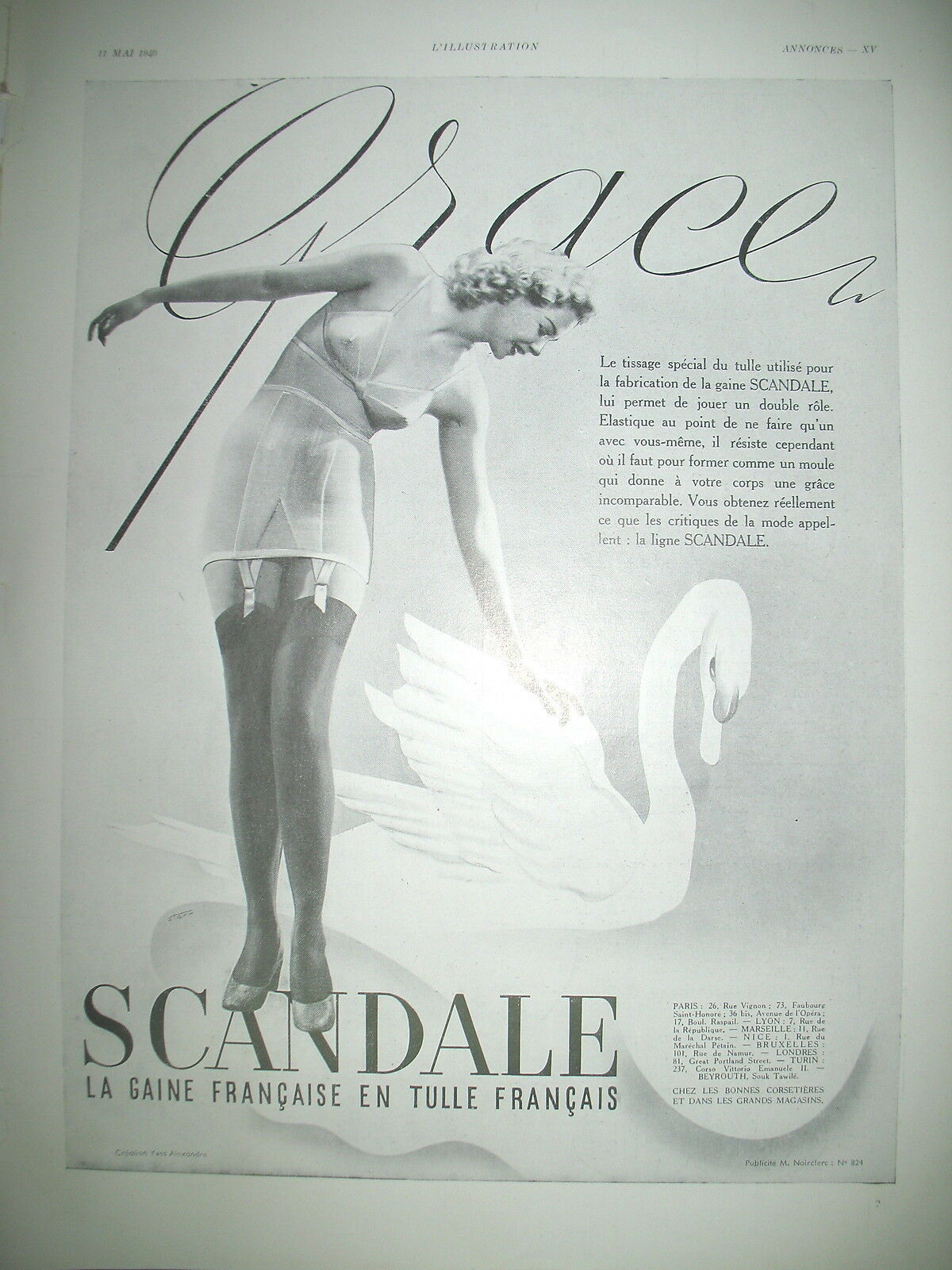 scandale 1940-starr grace