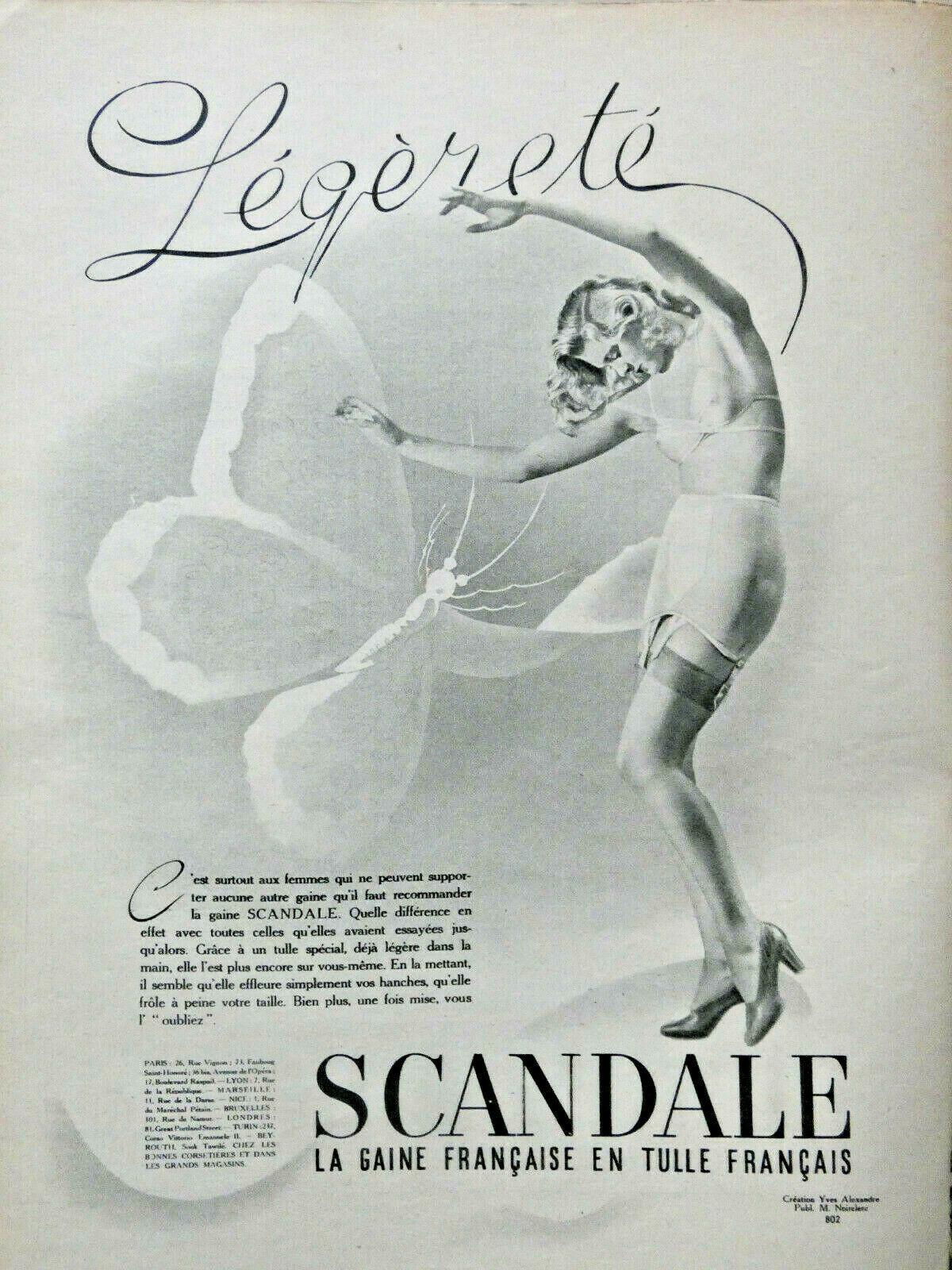 scandale 1940-starr legerete
