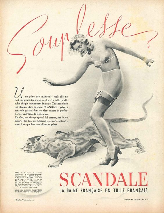 scandale 1940-starr souplesse