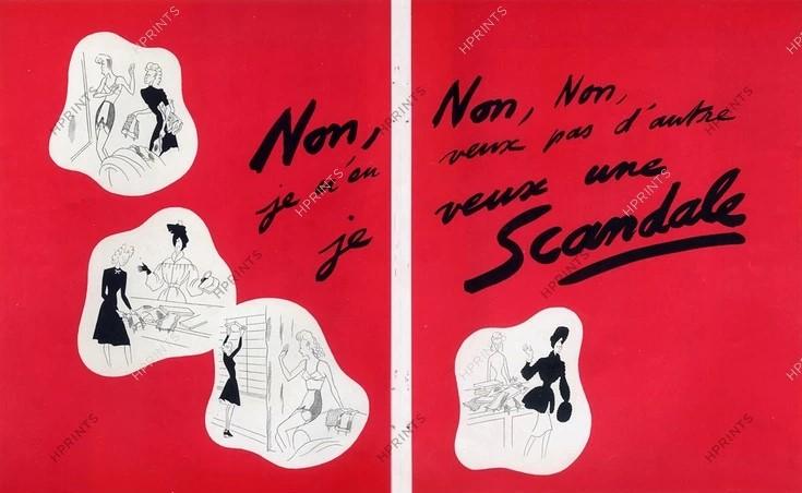 scandale 1944 raymond de-lavererie hprints