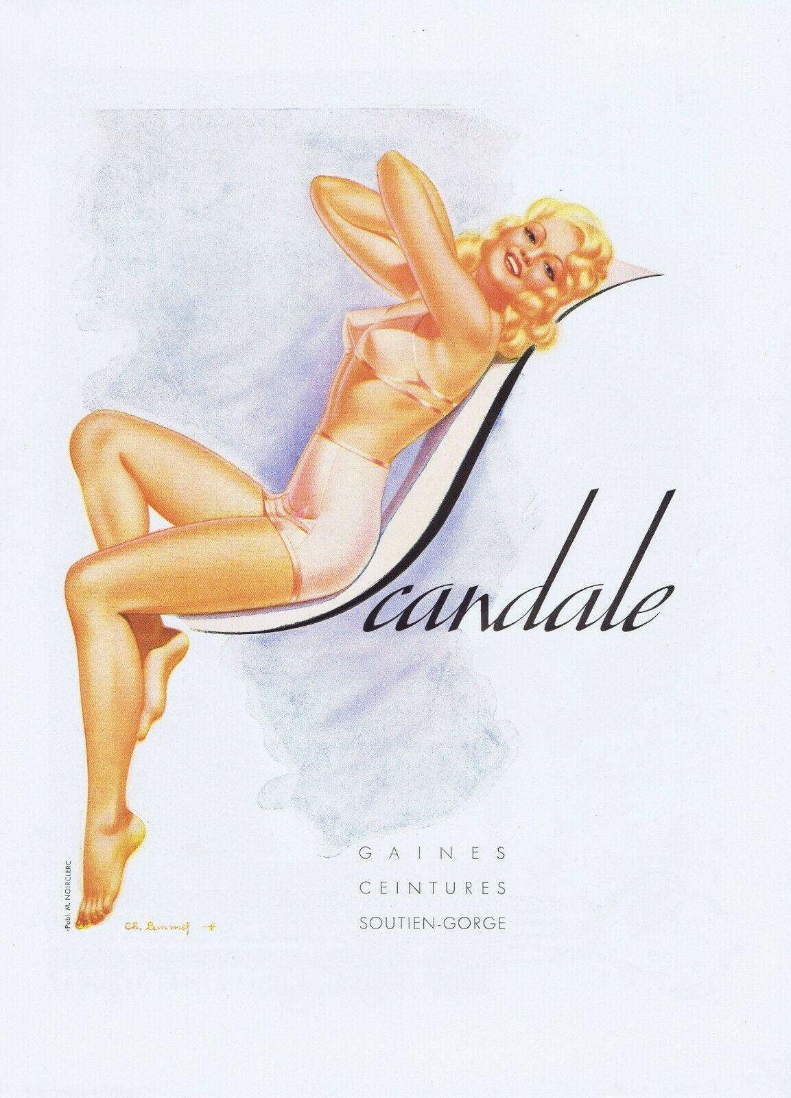 scandale 1946 charles-lemmel