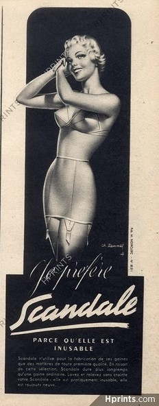 scandale 1950 charles-lemmel hprints