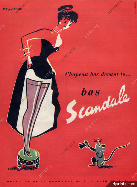 scandale 1951 pierre-fix-masseau hprints A2