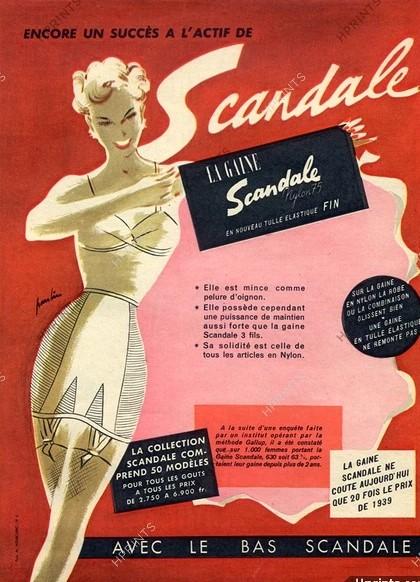 scandale 1952 Maurice Paulin A1