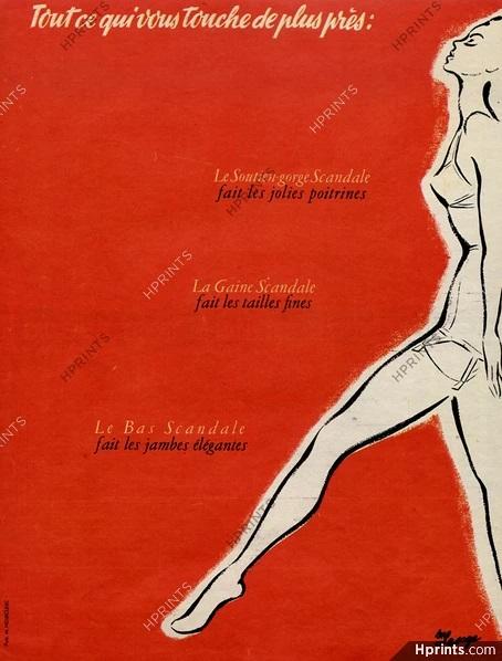 scandale 1952 s-n-lesage hprints