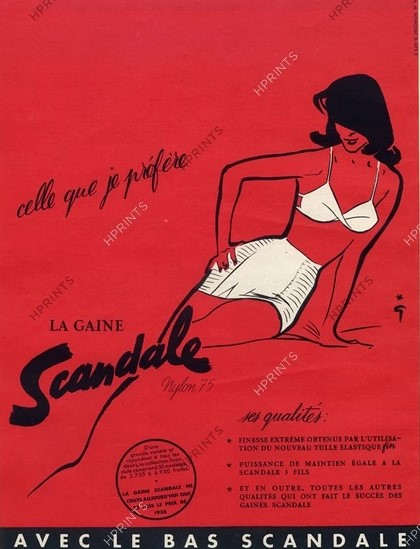 scandale 1953 gruau hprints