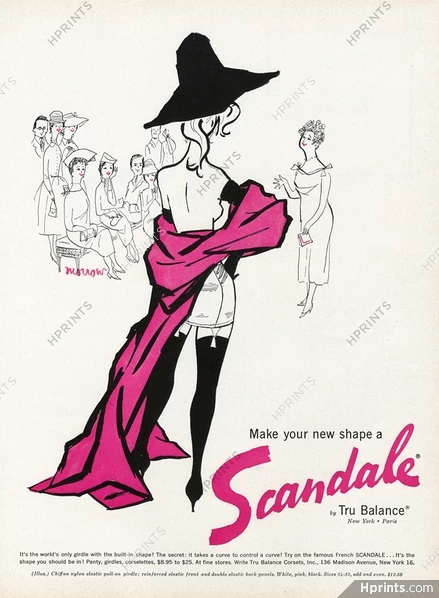 scandale 1956 US Morrow tru-balance hprints