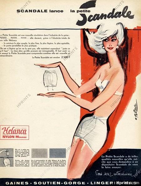scandale 1959 roger blonde La petite Scandale