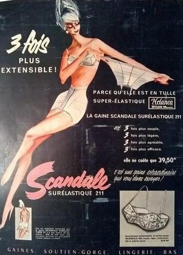 scandale 1960 roger blonde Surelastique 211 A2