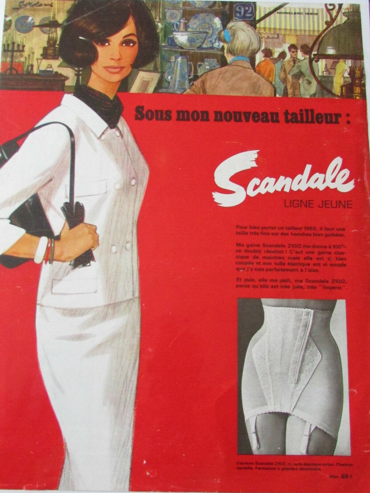 scandale 1965 pierre-couronne A1 tailleur