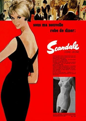 scandale 1965 pierre-couronne A2 robe