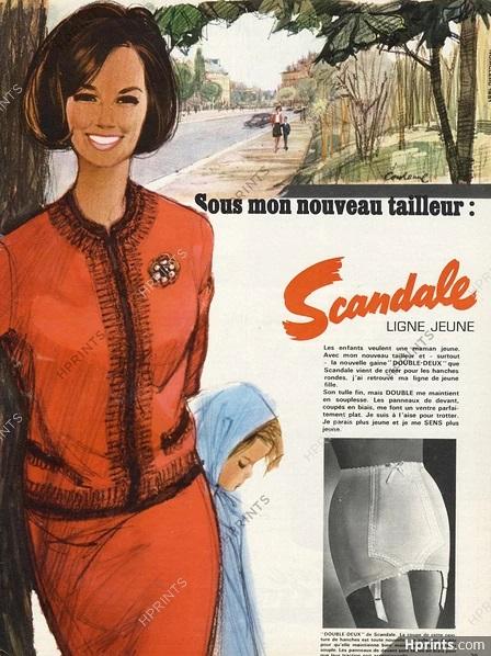 scandale 1965 pierre-couronne A4 tailleur hprints