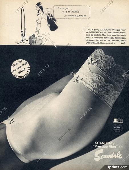 scandale 1968 kiraz scandicbas presqure rien hprints