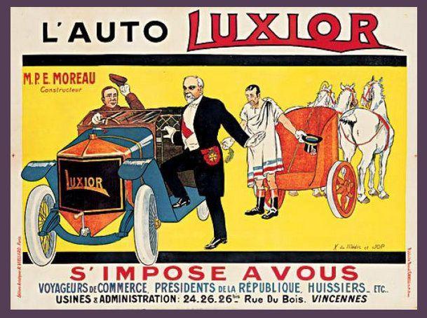 voitures Luxior, c1912-1914