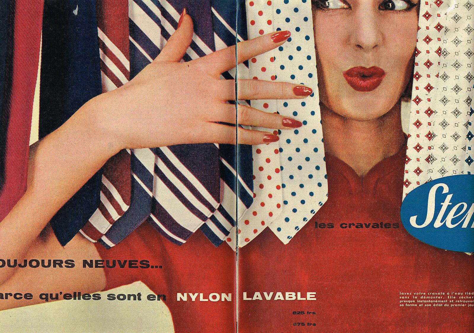 1956 STEMM cravates