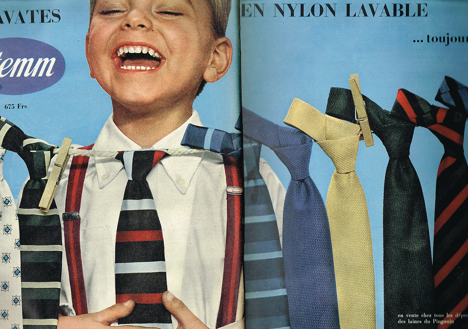 1957 STEMM cravates