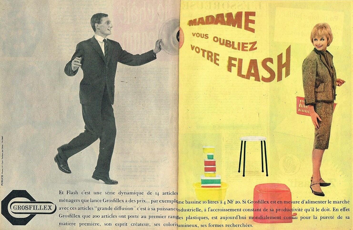 1961 Plastiques Grosfillex