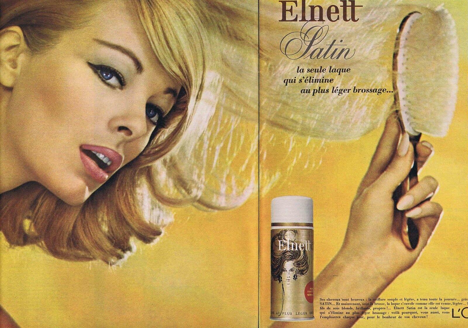 1965 L'OREAL Elnett satin laque