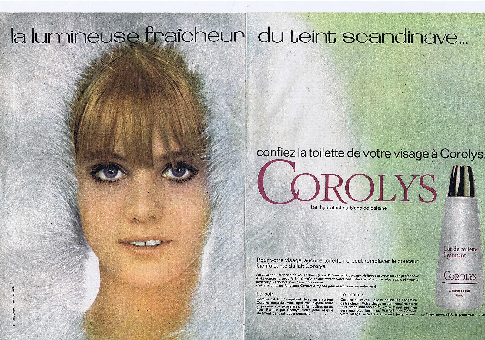 1966 COROLYS la toilette du visage