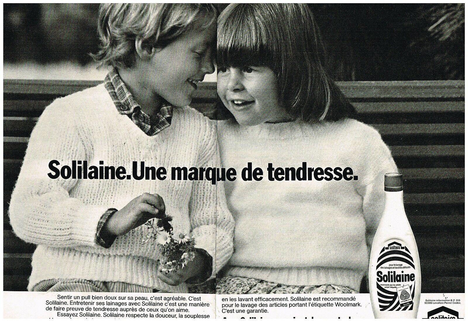 1981 La lessive pour laine Solilaine