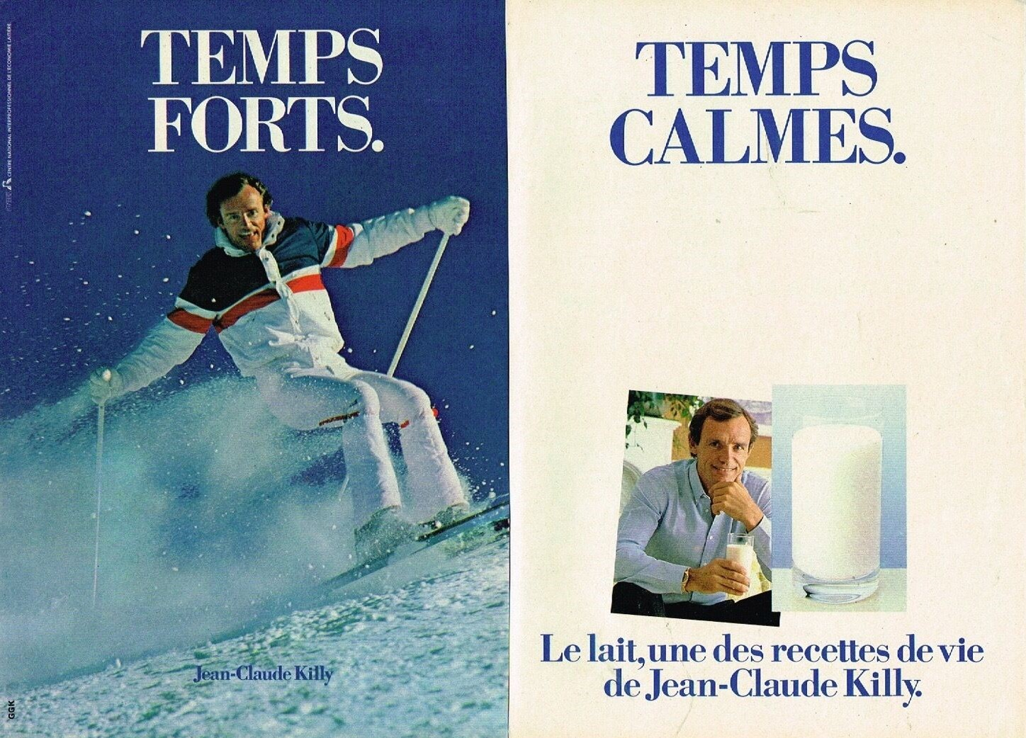 1982 Lait A4 avec Jean Claude Killy