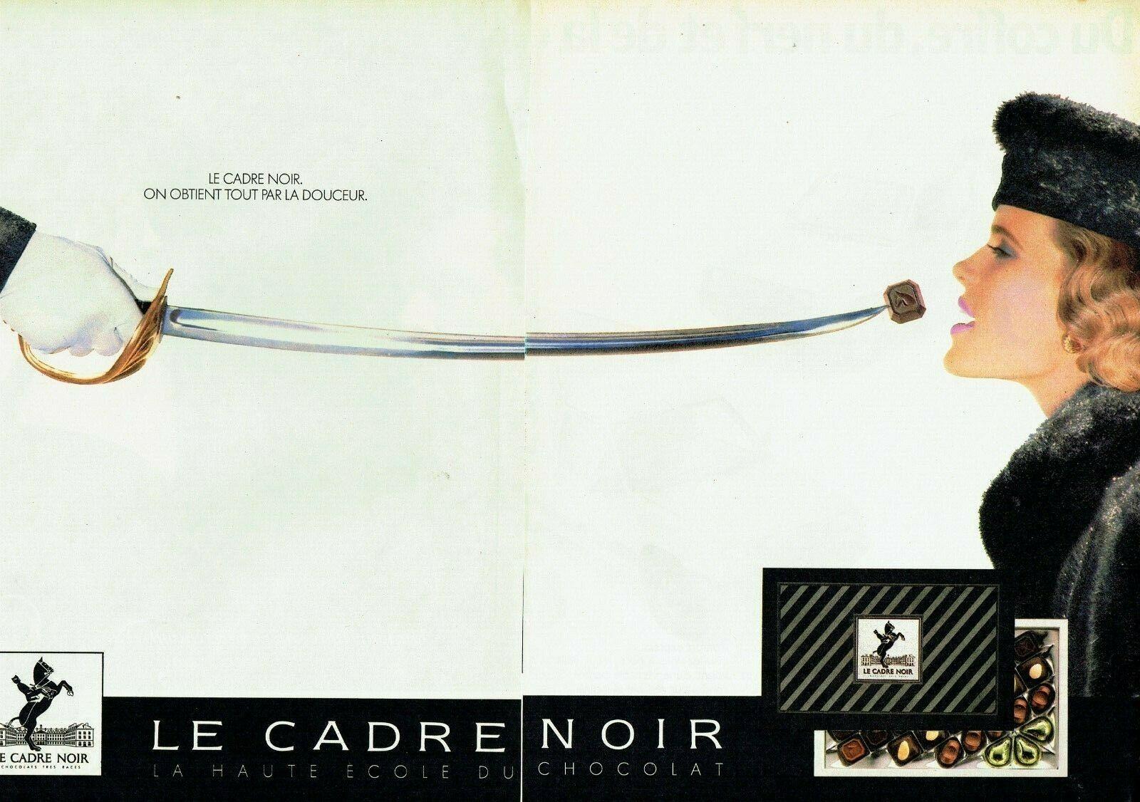 1985 chocolat Cadre Noir A1